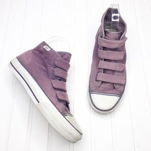 Vans | Corduroy Velcro Sneakers